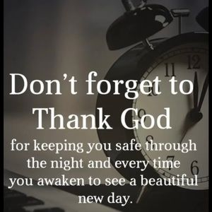 Be Grateful for Every New Day